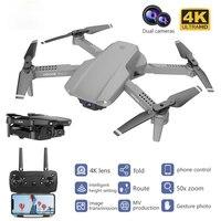Dron E99 Pro con doble cámara, plegable, de altura fija, control remoto, 4K, HD, aéreo, cuatro ejes, avión quadrotor, UAV