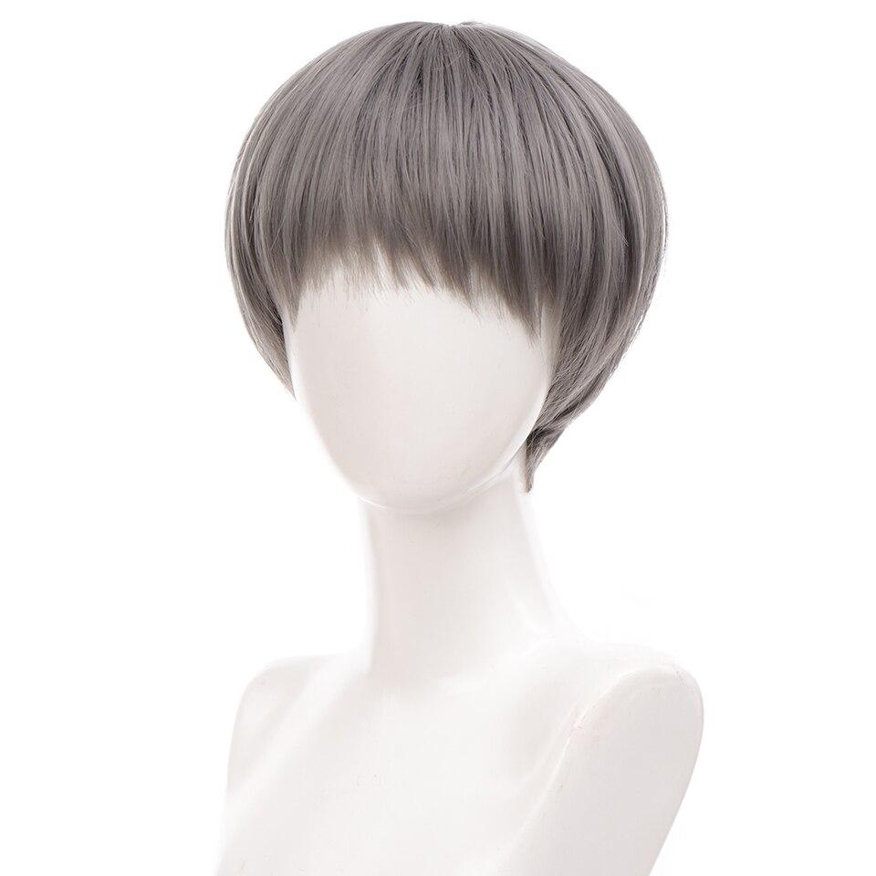 linha reta cinza preto azul marrom perucas