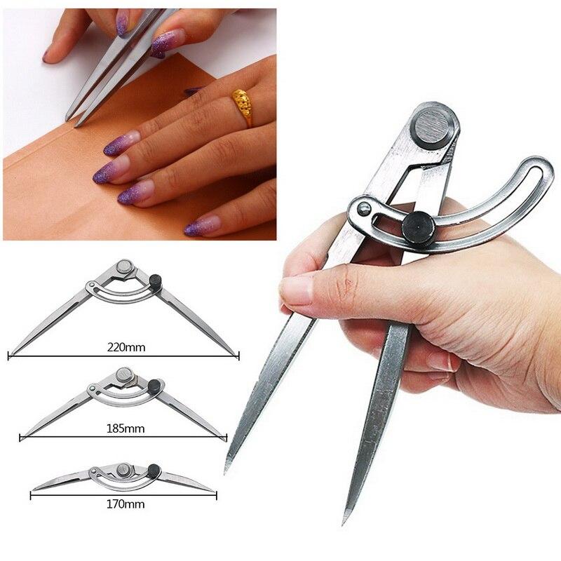 Wing Divider Carbon Steel Pencil Marking Compasses-Circle Maker Adjustable Scriber For Craftsman Architect Student