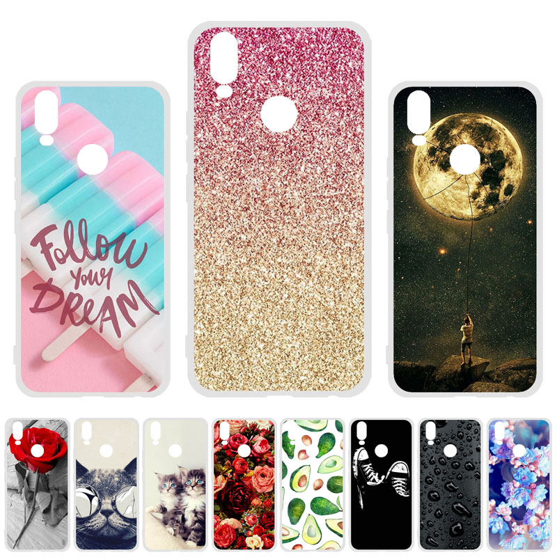 Soft TPU Case For Vivo Y11 2019 Cases Silicon DIY Painted Phone Coque Bumper For Vivo Y11 2019 Z5X Y17 Y19 Covers Skin Shell