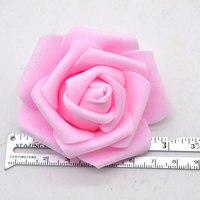 20Pcs 6cm Big PE Foam Roses Artificial Flower Heads For Wedding Party Decoration DIY Wreaths Home Decorative Craft Supplies