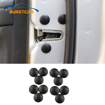 Xburstcar Car Door Lock Screw Protector Cover for Renault Koleos Captur Megane Kadjar Logan Duster for Samsung Qm5 Qm6 Qm3 image
