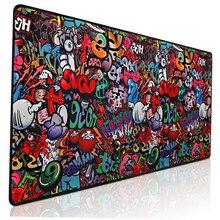 Mause Pad Desk-Mat Mouse-Pad Laptop-Keyboard Gamer World-Map 900x400 Large XXL