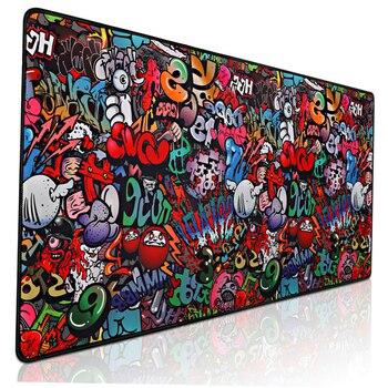 Игровой коврик для мыши, большой коврик для мыши, игровой компьютерный коврик для мыши 900x400, большой коврик для мыши с картой мира XXL, коврик д...