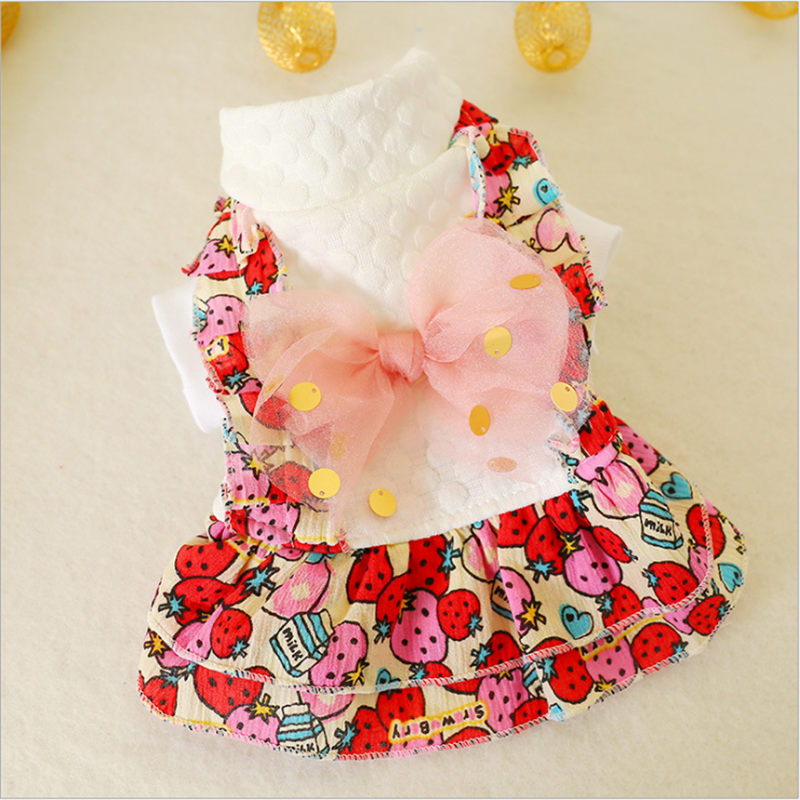 Cute pet Dog Pet Vest Puppy Cotton chihuahua dog clothes Ropa Para Perros Clothes for Small