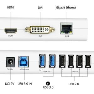 Image 4 - Wavlink Universal USB 3.0 Docking Station Dual Video Display Monitor RJ45 Gigabit Ethernet Support 1080P DVI/HDMI Working Online