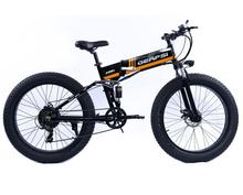 Electric bicycle Folding electric mountain bike 4 0 Fat Tire Electric Bike 48V Mens Mountain Bike