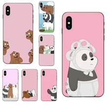 We Bare Ice Bear Panda Style For Huawei Mate 9 10 20 P8 P9 P10 P20 P30 Lite Mini Play Pro P smart Plus Z 2017 2019(China)