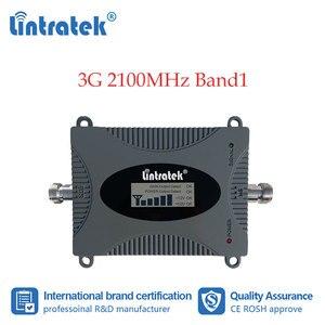Image 1 - Lintratek 3G amplificateur cellulaire 2100MHz répéteur de Signal de téléphone portable amplificateur de Communication de données Internet 2100 WCDMA écran LCD dd