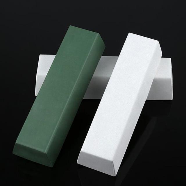 1pc 110x35x25mm Compound Green Polishing Paste Abrasive Paste Metals Polishing Wax Paste Chromium Green Oxide Grinding Paste