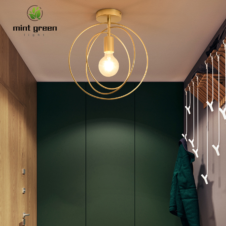 Rustic Industrial Ceiling Pendant Lights Kitchen Island Lamp Cafe Hanging Light Modern Lighting Fixtures Nordic Minimalist Lamp