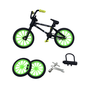 2019 Excellent Quality Bmx toys Alloy Finger BMX Functional kids Bicycle Finger Bike Bmx bike Set toys for boys(China)