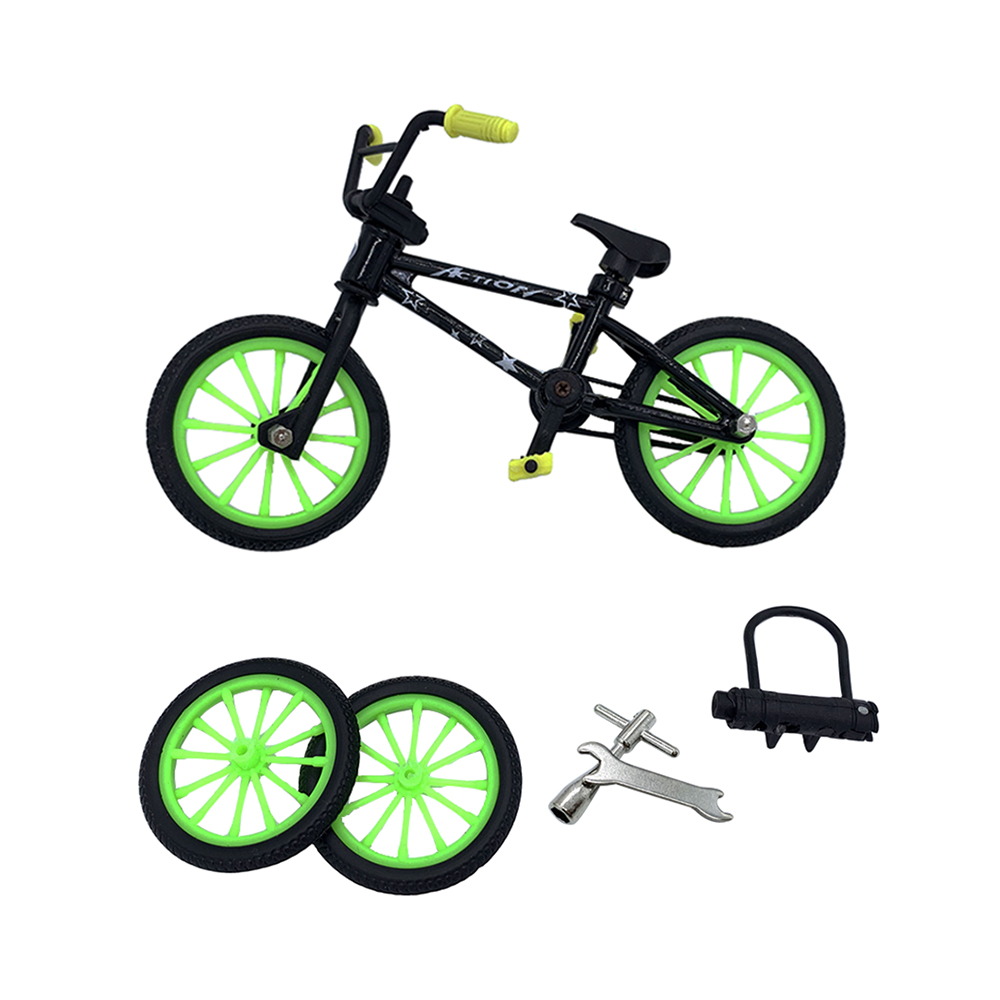 2019 Excellent Quality Bmx Toys Alloy Finger BMX Functional Kids Bicycle Finger Bike Bmx Bike Set Toys For Boys