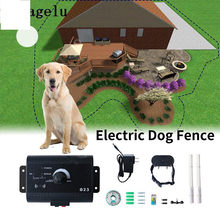 CONG FEE Safety Pet Dog Electric Fence Electronic Training Collar Containment System Transmitter With Waterproof(China)