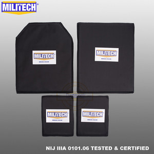 Image 1 - MILITECH Aramid Ballistic Panel BulletProof Plate Inserts Body Armor Soft Armour NIJ IIIA 3A 11 x 14 STC&SC And 6 x 8 Two Pairs