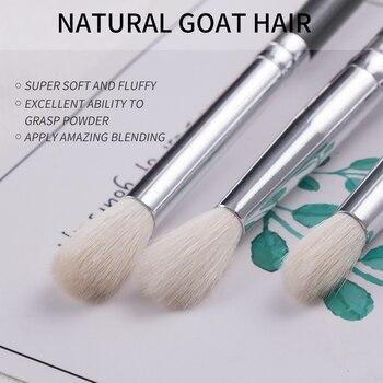 BEILI Black Makeup brushes set Professional Natural goat hair brushes Foundation Powder Contour Eyeshadow make up brushes 3