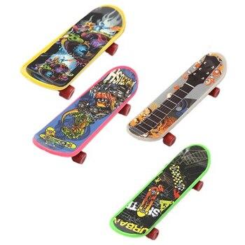 Mini 4 Pack Finger Board Tech Deck Truck Skateboard Toy Gift Kids Children Gift 95mm kids professional finger skateboard educational kids gift mini plastic board toy children finger skateboard toy