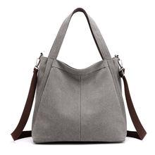 Простая и универсальная женская Большая вместительная сумка