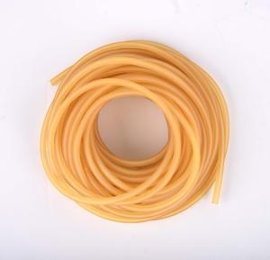 Гибкий шланг из натурального латекса, эластичная медицинская трубка с диаметром 8 мм, 9 мм x 12 мм, для рогатки, катапульты