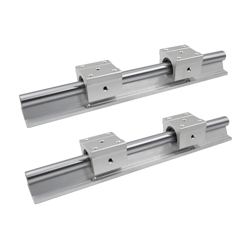 SBR12 12mm Linear Rail Length 300mm 400mm 500mm 600mm 700mm 800mm Linear Guide With SBR12UU Linear Block Cnc Parts
