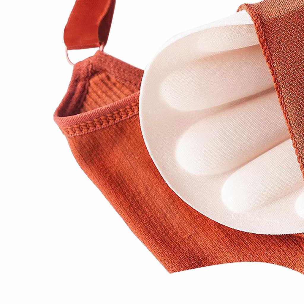 مثير المرأة رقيقة بلون التفاف الصدر الصدرية سترة سترة الملابس الداخلية حجم الحرة عالية الجودة لينة و لمط تعديل -الأشرطة
