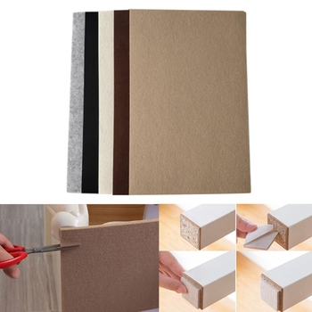 5mm fieltro grueso puede tapete para cortar de piso de muebles de hogar muebles de piso de mesa y silla protección reposapiés tazas de nuevo *