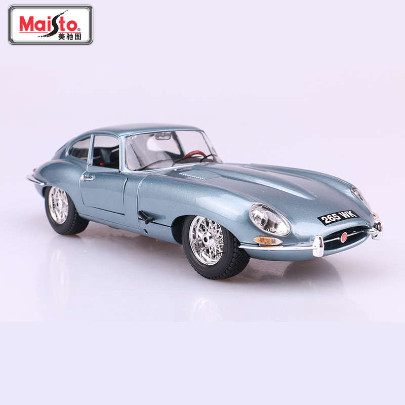 Bimeigao 1: 18 Model Alloy Car Model Jaguar E-Typ E Coup E Classic Car Model Collection Gift Decoration