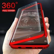 Чехол для Xiaomi Redmi 9A 9C Note 9 8 7 6 5 9S 8T Pro 4X 5A 6A 7A 8A K20 k30 Go 5Plus, чехол со стеклом, 360