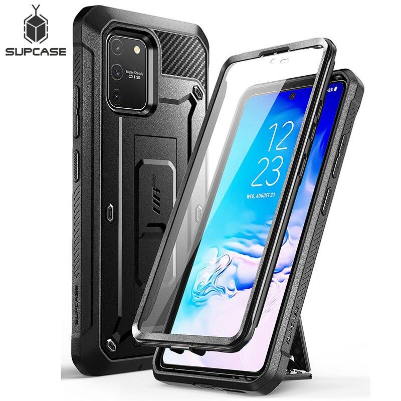 Samsung Galaxy S10 Lite durumda (2020 sürümü) SUPCASE UB Pro tam vücut sağlam kılıf kapak ile ekran koruyucu|Takılır Kılıflar|   - AliExpress