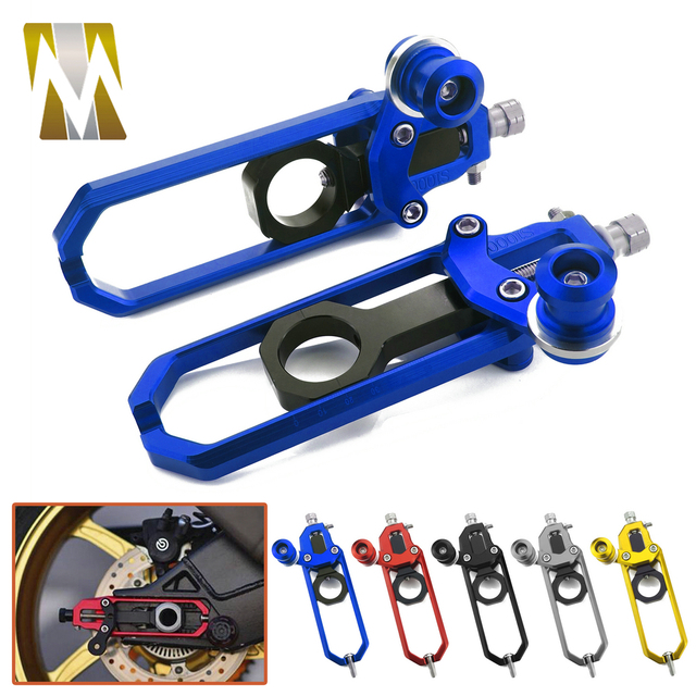Ajustadores de cadena para motocicleta accesorios, para S1000RR S 1000 R RR S1000R HP4 2009 2010 2011 2012 2013 2014 2015 2016