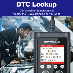 Image 3 - THINKCAR THINKOBD 20 Auto Scanner Car Diagnostic Tool Automotivo Code Reader Check Engine Light DTC Lookup Diagnose Tool