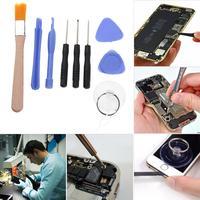 For iPhone Samsung Xiaomi Smartphones Professional Screen Opening Repair Tool Kits Mobile Phone Screwdriver Tool Sets Dropship|Phone Repair Tool Sets| |  -