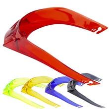 Moto casco colorido grande spoiler para gp & CORSA-R & pista grp & peças traseiras & acessórios preço de fábrica