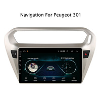 9 2.5D Android 8.1 Car DVD GPS Player For Peugeot 301/Citroen Elysee Car Radio Stereo Head Unit with Navigation