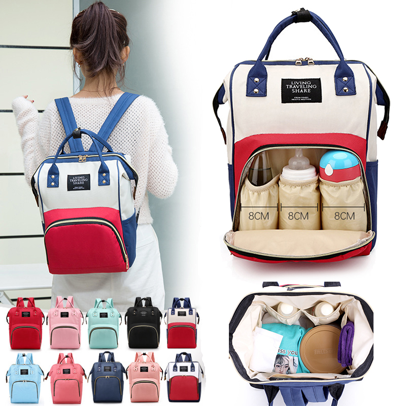 Fashion Mummy Maternity Nappy Bag Brand Large Capacity Outdoor Travel Diaper Bag Waterproof Baby Nursing Bags For Baby Care