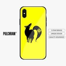 Pecado da raposa ban nanatsu nenhum taizai silicone macio vidro caso do telefone capa escudo para o iphone 5S 6 s 7 8 plus x xr xs 11 pro max