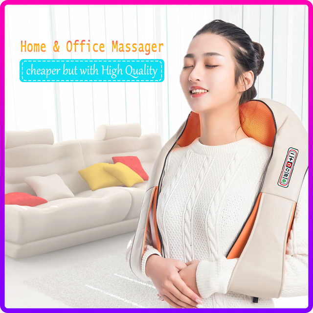 Revolt Electrical Heat Neck Massager 1
