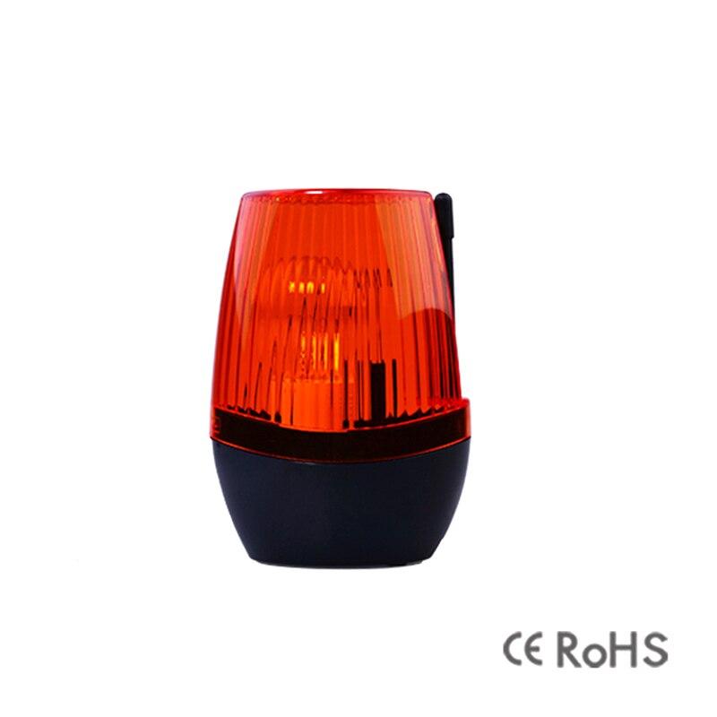 Universal Automatic Gate Opener Strobe Flash Lamp Alarm Wall Mount 12v 24V 230VAC