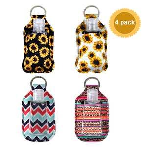 Soap-Dispenser Keychain Perfume Storage-Case Gel-Holder Hand-Sanitizer Travel Portable