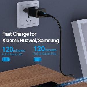 Vention Micro USB кабель 3A Быстрая зарядка USB кабель для передачи данных 2 м 3 м для Samsung Xiaomi Huawei Android мобильный телефон USB кабель для зарядки