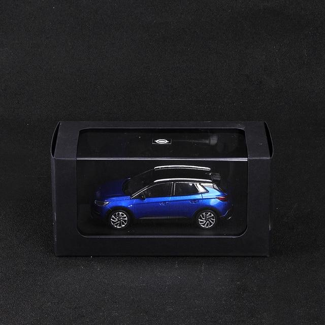 Caja Original para la colección de regalos de vehículos modelo metálico estático de coche de aleación alta meticulosa 1:43 Volkswagen UP