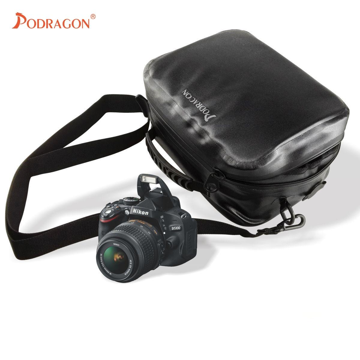 Podragon Waterproof Backpack Shoulder Waterproof Camera Bag Shockproof Full Waterproof Portable Airtight Outdoor Bag