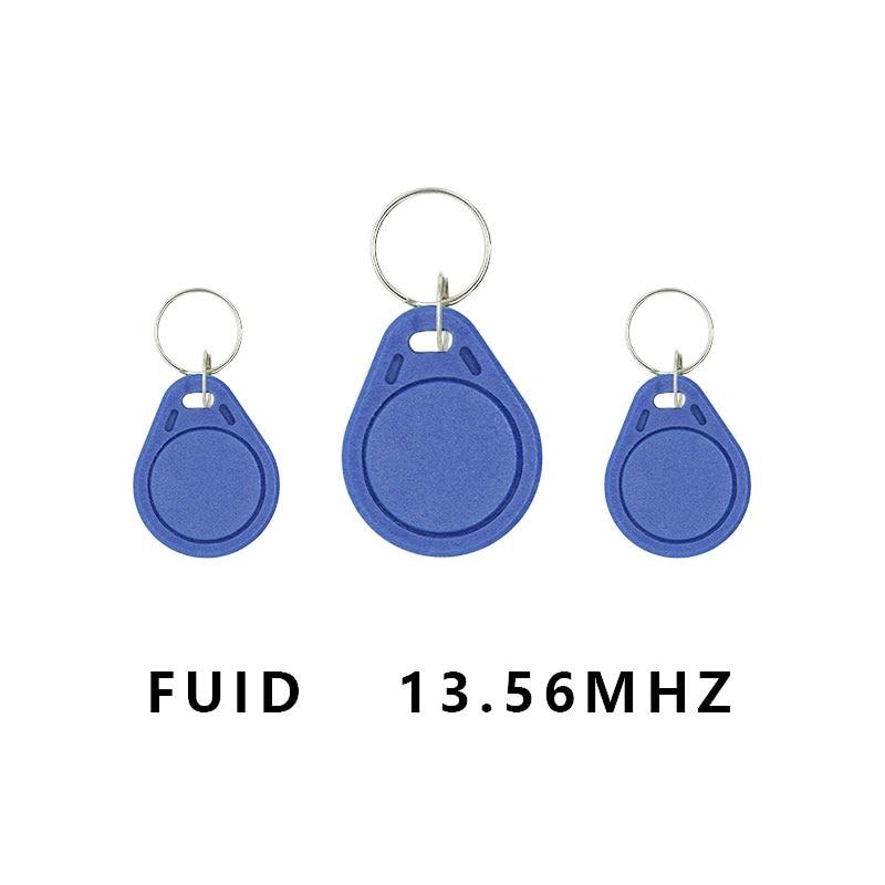 10pcs/lot RFID FUID Tag 13.56Mhz One-time UID Changeable Block 0 Writable  Card Proximity Keyfobs Token Key Copy Clone