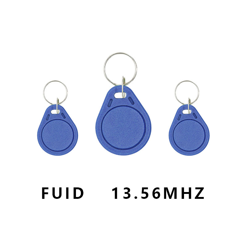 5 / 10PCS NFC Smart Access Control Card RFID 13.56MHZ One-time Writeable FUID Keychain Smart Induction Token Tag