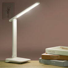 9W Sensor Touch LED Table Lamp Touch Controll Brightness Adjustable USB Rechargeable Reading Eye Protect Led Table Lamp Dropship