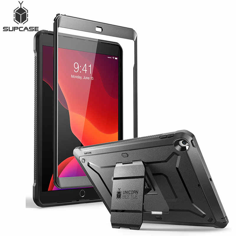 For iPad 10.2 Case 7th Generation (2019 Release) SUPCASE UB PRO Full-body Rugged Cover with Built-in Screen Protector&Kickstand