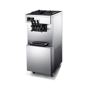 Máquina comercial de helado suave 220V vertical para hacer edulcorante inteligente de helado