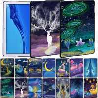 Funda dura anticaída para tableta Huawei MediaPad T5 10, 10,1 pulgadas, MediaPad T3 8,0/T3 10 9,6 pulgadas, con Stylus gratis