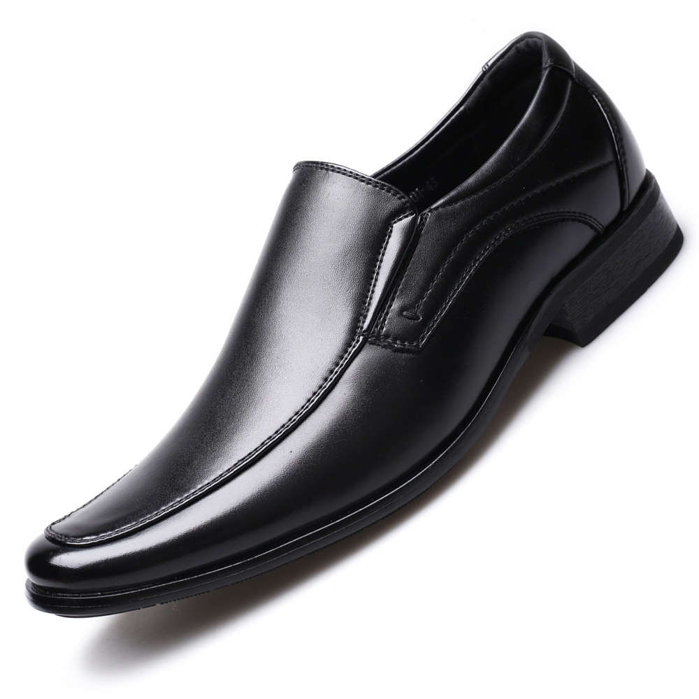 Classic Business Men's Dress Shoes Fashion Elegant Formal Wedding Shoes Men Slip On Office Oxford Shoes For Men 2020