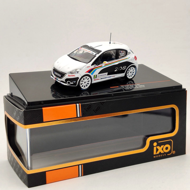 IXO 1:43 For PEUGEOT 208 R2 #0 Tour De Corse 2012 RAM559 Diecast Models Limited Edition Collection Toys Car Gifts